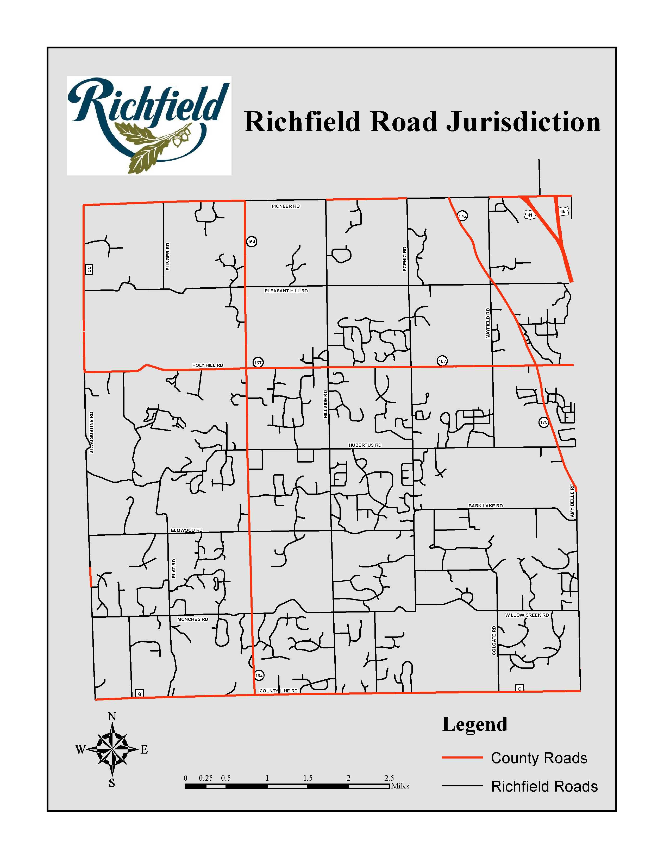Richfield Plow Map